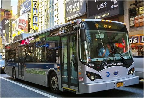 electric boat new york going electric adds up to a good idea for nyc buses