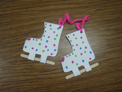 winter crafts skates craft and more winter program ideas winter