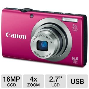 Baru Kamera Digital Canon Powershot A2300 buy the canon powershot a2300 digital at tigerdirect ca
