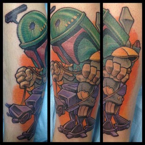 tattoo new school star star wars fan by jime litwalk tattoonow