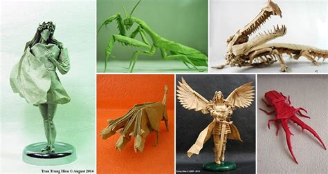 Best Origami Creations - these amazingly detailed origami style creations are awesome
