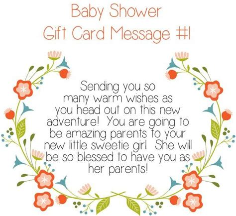 Baby Shower Card Messages Sle by 1000 Ideas About Baby Shower Card Message On