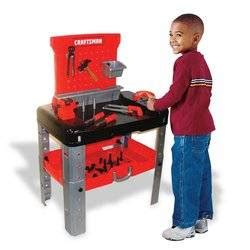 craftsman tool bench for kids amazon com my first craftsman tool bench toys games