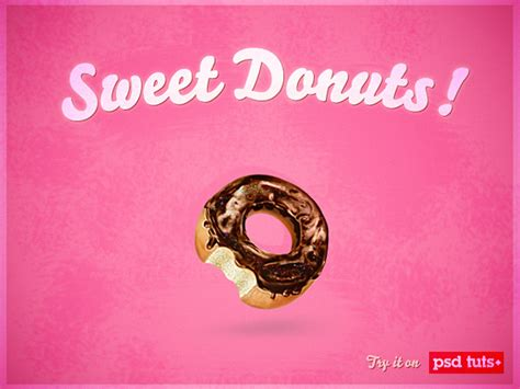 illustrator tutorial donut create a sweet donut icon in photoshop from scratch