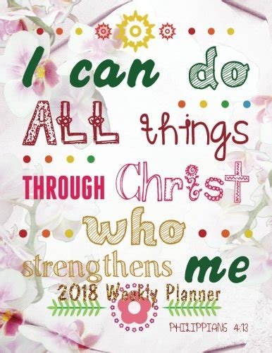 2018 weekly planner bible verse quote weekly daily monthly planner 2018 8 5 x 11 calendar schedule organizer bible verse quote weekly daily 2018 2019 journal series volume 20 books 2018 weekly planner bible verse quote weekly daily