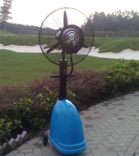portable misting fans with tank misting fans closeout 24 inch oscillating portable high