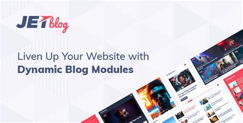 Post Type Builder V1 2 7 Custom Post Types jetblog 1 0 1 blogging package for elementor