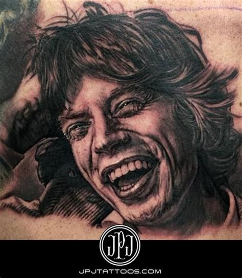 mick jagger tattoo tattoonow s best top artists