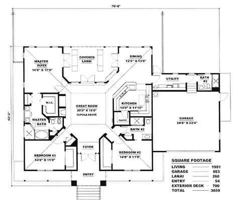 florida homes floor plans house plan chp 17425 at coolhouseplans com