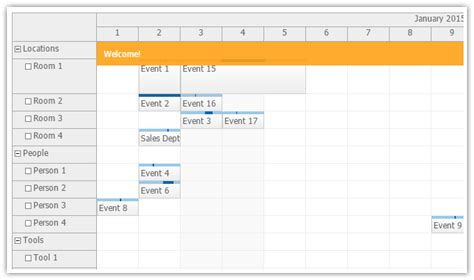 tutorial java calendar daypilot for java calendar scheduler and gantt chart