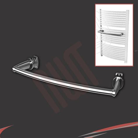 Chrome & White Towel Rail Accessories   Towel Bars, Rings