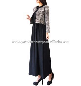 Gamis Jersey Maxi Dress design dress gamis abaya maxi dress for