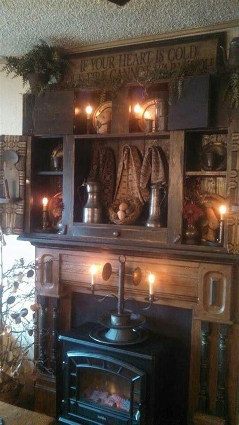 Primitive Fireplace Decor by 403 Best Primitive Colonial Decorating Images On