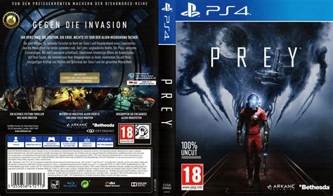 Cover A by Prey Ps4 Cover German Arkane Studios Bethesda