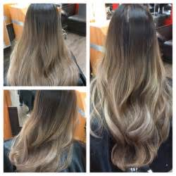 how to do ash ombre highlight on hair hair 2001 ash tone balayage ombre on asian hair