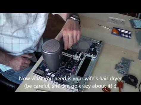 Hair Dryer To Fix Laptop how to fix nvidia card in sony vaio with hair dryer
