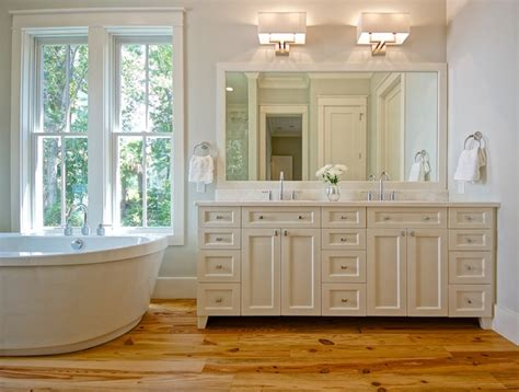 Ivory Powder Room   Transitional   bathroom   Digs Design