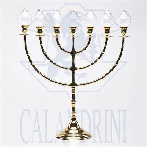 candeliere ebraico candeliere ebraico 7 fiamme calandrini srl