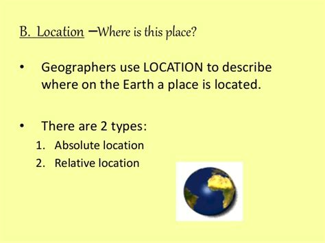 5 themes of geography guided notes 5 themes of geography