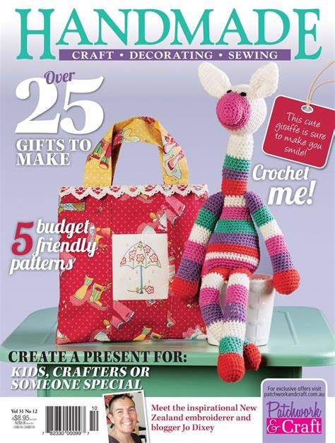 Handmade Magazines - pin by patchwork craft magazines on handmade magazine
