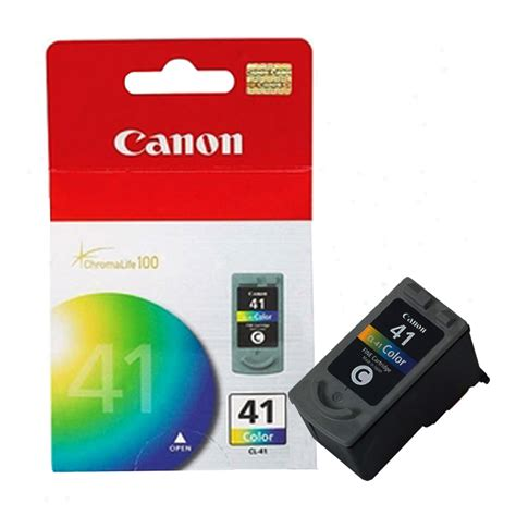 Tinta Canon Pixma 41 Colour tinta canon cl 41 color