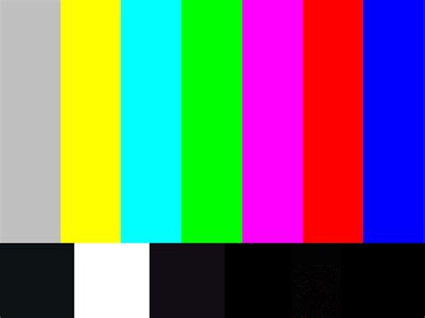 color bars tv colorbars i will not diet