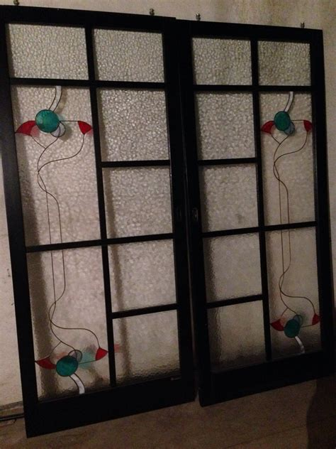 porta scorrevole legno e vetro porte scorrevoli vetro temperato e legno laccato nero