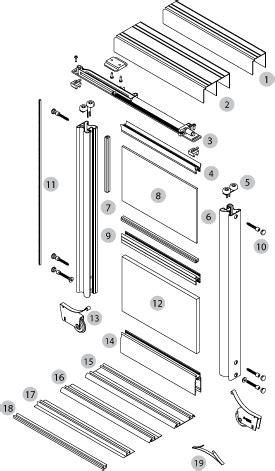 sliding wardrobe doors diy sliding