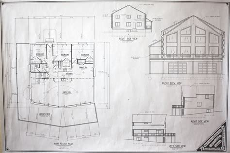 blueprints for cabins cabin plans