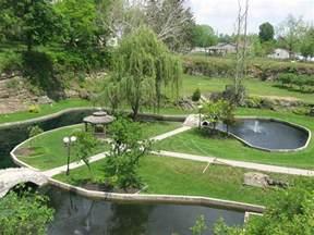 The Sunken Gardens by Sunken Gardens Huntington Indiana
