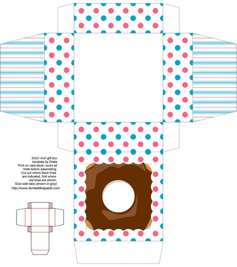 donut template don t eat the paste donut day