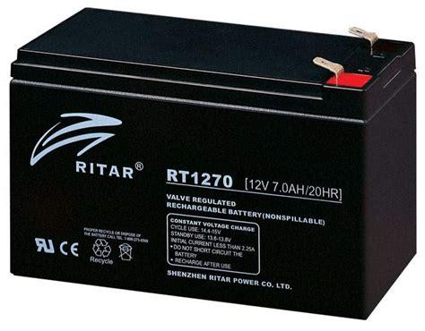 Baterai Ritar agm battery rt1270 ritar china manufacturer