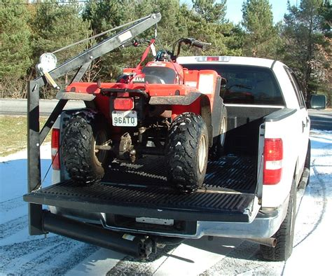 Truck Bed Hoist by Universal Hitch Crane Free Shipping