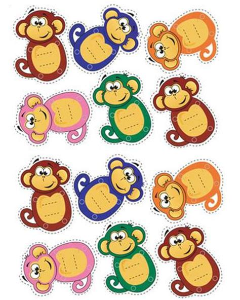 printable monkey birthday decorations printable pin the tail on the elephant party game lello