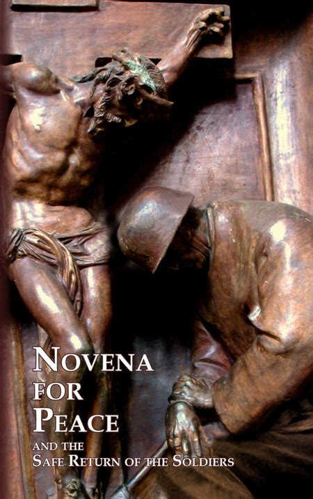 forgiving a marian novena of healing and peace books novena for peace and the safe return of soldiers