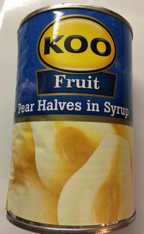 Wilmond Halves In Syrup Canned 187 koo pear halves in syrup 410g can