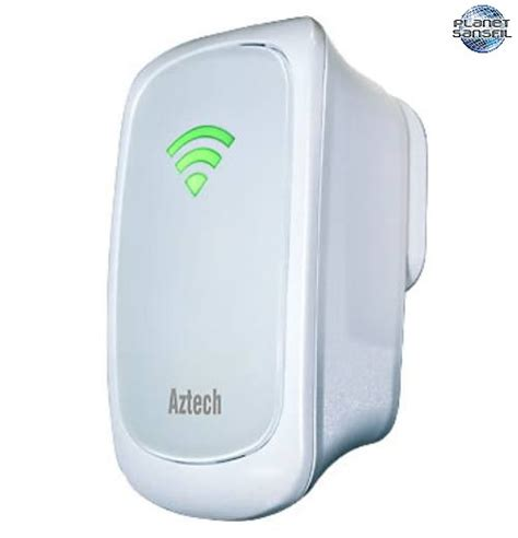 Wi Fi Reapeater Aztech Wl559e aztech 300mbps wall plugged wireless n repeater
