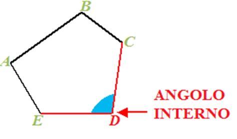 angoli interni poligoni angoli interni e angoli esterni di un poligono