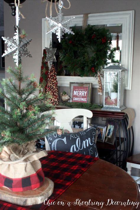 how to decor living room for christmas