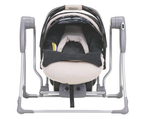 graco car seat swing snugglider classic connect infant car seat swing frame