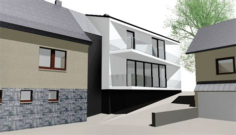 Anbau An Einfamilienhaus by Atelier A11 Constanze Frank