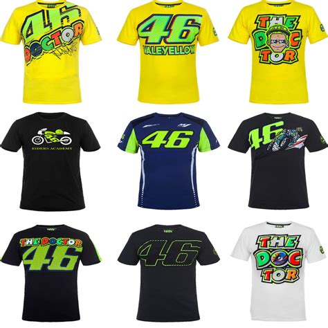 Kaos Motogp 46 The Doctor 3 2017 valentino vr46 moto gp monza rally replica t