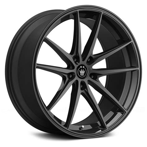 black wheels konig 174 oversteer wheels gloss black rims