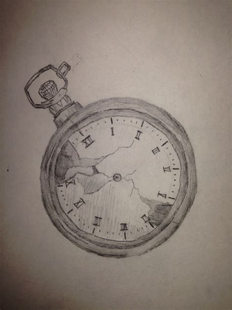 stopwatch tattoo design pencil drawing stopwatch by