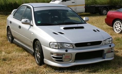 subaru impreza wrx sti 1996 subaru 1996 impreza wrx sti the history of cars