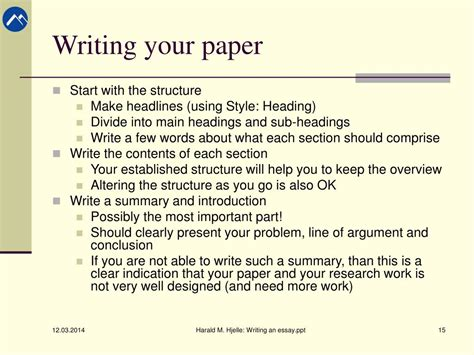 powerpoint research paper write research paper ppt original content