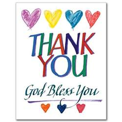 religious thank you cards the gift of saying thanks the printery house
