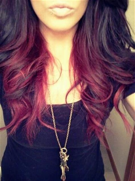 brown with red underneath hair 25 best ideas about red hair underneath on pinterest