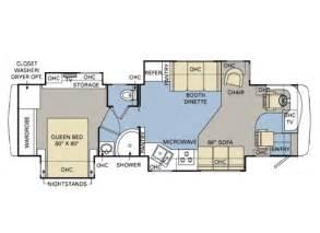 My Home Floor Plan 2008 Monaco Cayman Xl 37pdq Used Motorhomes For Sale