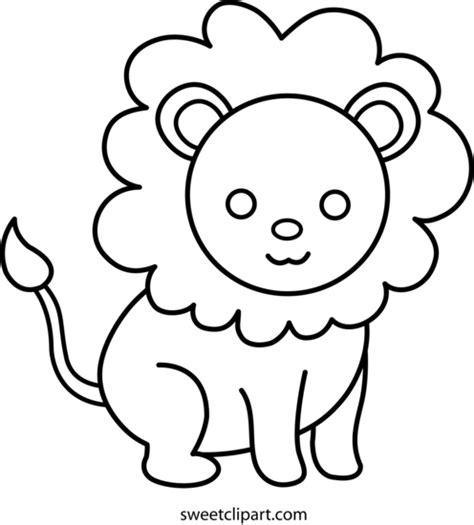 cute lion coloring pages cute lion coloring page free clip art